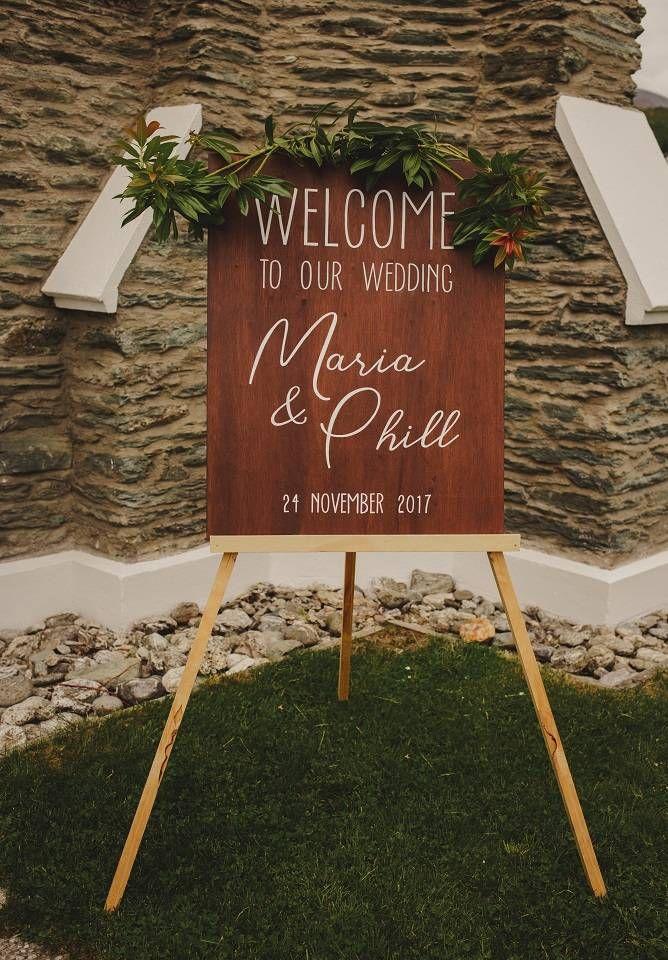 BelleBoard Design | Wedding & Event Signage - Queenstown